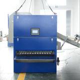 Trabalho de dobramento da máquina da lavanderia automática com 3 medidores Flatwork Ironer