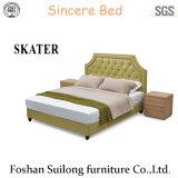 현대 미국식 직물 침대 침실 가구 Sk13