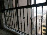 鋼鉄塀として功妙な錬鉄階段手すりの柵