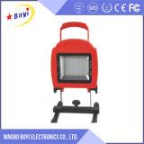 Luz de inundación recargable del LED, dispositivos ligeros de inundación del LED