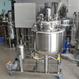500L Elektrische het Verwarmen van het roestvrij staal Tank met Mengapparaat voor Schoonheidsmiddel