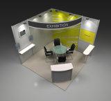 3X3mのシェルスキームアルミニウム展示会展覧会ブースの立場