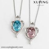44070 de Kristallen van de Ketting van de Halsband van het Roestvrij staal Xuping van Swarovski voor de Juwelen van Dames