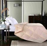 Plain teñido Manufacter poliéster/algodón edredón de plumas comercio al por mayor en el conjunto de ropa de cama
