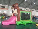 2017膨脹可能な跳躍の城のコンボのオオカミの警備員(T1026)