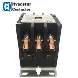 Contactor magnético eléctrico de la CA de la serie 3 P 24V 30A de Hcdp para la pompa de calor