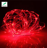 Батарея - приведенный в действие свет шнура света медного провода для венчания