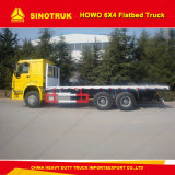 Cdw Sinotruk 4X2の低い平面トラックの貨物トラック