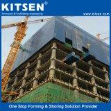 Muur die Concrete Bekisting bouwen die Systeem beklimmen