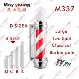 Migliore negozio di barbiere girante del segno LED del salone di capelli di prezzi di fabbrica del venditore Palo