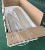 Feu fabricant de tubes de verre de quartz de polissage