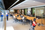Venta caliente Trunking LED de luz LED luz lineal para la iluminación de oficina, almacén
