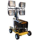 beweglicher Beleuchtung-Aufsatz des Dieselgenerator-4*400W