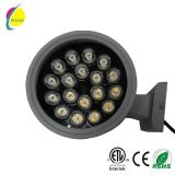 Purpurrotes 2*12W rundes LED helles im Freien LED Licht
