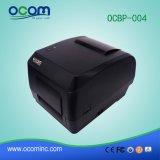 Ocbp-004A-U USB 공용영역을%s 가진 열 이동 바코드 레이블 인쇄 기계