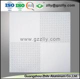 Material decorativo de alta qualidade furação de alumínio tecto perfurado com a norma ISO9001