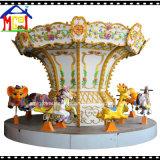 Качание спортивной площадки Carousel парка муравеев крытое едет электрическая игрушка