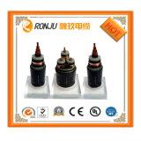 Zr-Yjlv22-10kv 3*400 che il conduttore di alluminio XLPE ignifugo ha isolato Acciaio-Legano il cavo elettrico con un nastro inguainato PVC corazzato