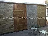 Trois carreaux de céramique en bois de cerise de couleur employant à la chambre à coucher