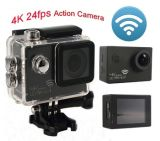 Sport DV d'appareil-photo d'action du WiFi 4k