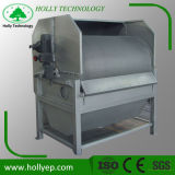 Máquina de la prensa de filtro de tambor rotatorio en el tratamiento de aguas residuales del acebo