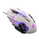 I mouse ottici del gioco del calcolatore registrabile LED di Mause 4000dpi del mouse di gioco hanno collegato il mouse elettricamente Lol del cavo dei giochi del USB per Gamer professionale