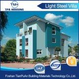 ISOは耐久の軽い鋼鉄ゲージによって組立て式に作られた家を証明した