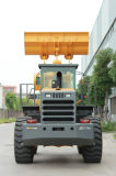 Carregador da roda de 5 toneladas com o carregador de levantamento elevado do equipamento movente de terra do braço Jgm757K