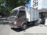 caminhão leve de 5t HOWO com caixa/Van Carga