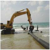Tubo de suministro de agua del tubo de PE100 Tubo de dragado de HDPE