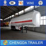 Koolstofstaal 3 de Semi Aanhangwagen van de Tanker van de Stookolie van de Benzine van de As