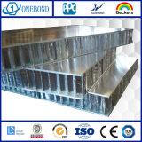 El panel de aluminio del panal del final del espejo para la decoración