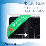 30V 250W con le celle di comitato solare approvate di iso di RoHS del Ce