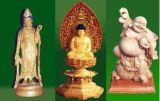 La figure de Bouddha