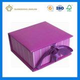 서류상 선물 상자를 인쇄하는 풀 컬러 (리본에)