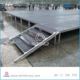 Estágio portátil de alumínio para a venda
