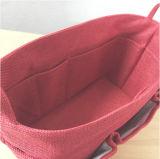 O saco cosmético do armazenamento com multi compartimentos, compo o saco da embalagem
