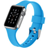 Marina personalizado Black Watch Silcione Apple 3 correa de hebillas, bandas para Iwatch 38mm 42mm