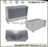 国際的な熱い販売アルミニウムはより涼しいラジエーター脱熱器の側面図を描く
