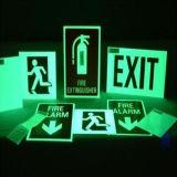 Incandescenza Photoluminescent nella pellicola scura per i segni Emergency
