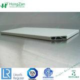 Panneau de base en carton ondulé, d'aluminium ondulé solide / panneau composite en aluminium Water-Wave Core