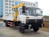 クレーンが付いているDongfengシャーシ5tonの~ 6tonのトラック