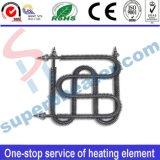 Elemento de calefacción aletado del calentador del acero inoxidable de la bobina