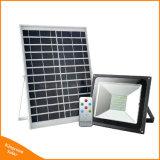 高い発電30Wの機密保護の太陽再充電可能なランプ防水LEDの庭の洪水ライト