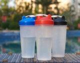 Batidos musculação Copa de mistura de plástico