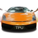 Película transparente de la protección de la pintura del coche de Ppf TPU del claro del abrigo de la carrocería de coche del rasguño automático de la reparación