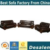 Hot vender mejor calidad de la recepción del hotel mobiliario sofá de cuero (2109)