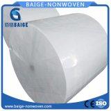 Rullo enorme del tessuto del tessuto non tessuto non tessuto della materia prima