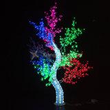 Blinkendes LED-künstliches Baum-Licht wasserdicht für im Freiendekoration