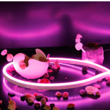 Única cor & luz de néon impermeável 50m/Roll da corda do diodo emissor de luz do RGB